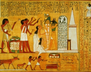 All the firstborn children of Egypt.